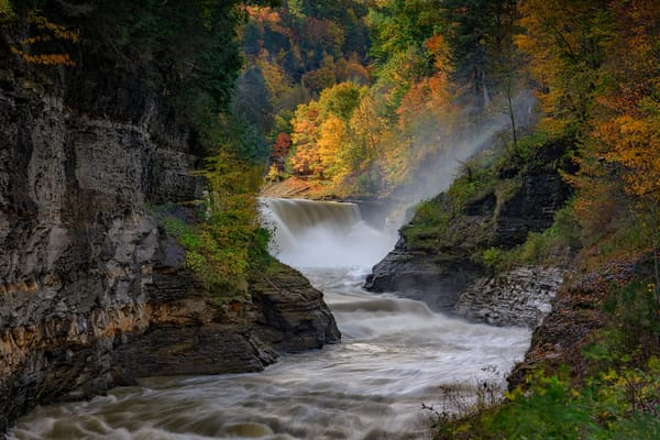Lower Falls of the Genesee | Shop Photography by Rick Berk