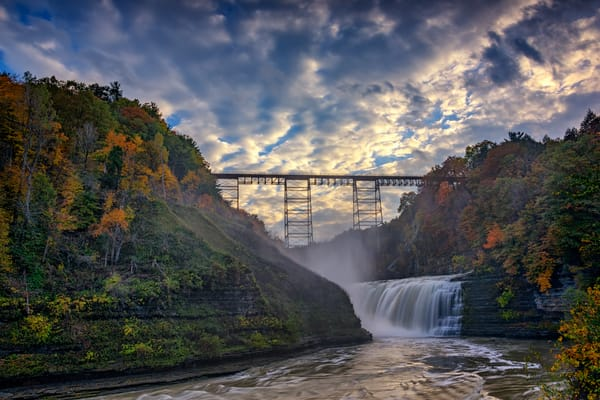 Dusk at the Upper Falls | Shop Photography by Rick Berk