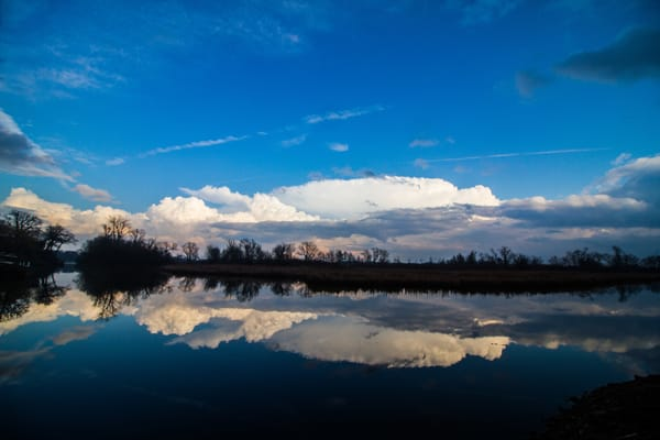 Spring Clouds Photography Art | Lake LIfe Images
