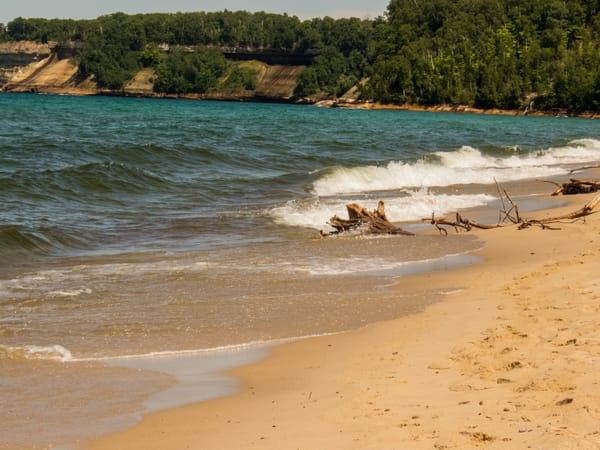 Superior Beach Photography Art | Lake LIfe Images