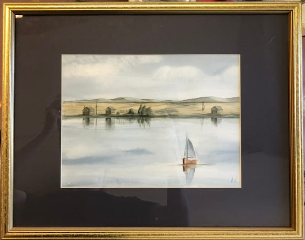 Dennis's Boat Art   Holly Whiting Art