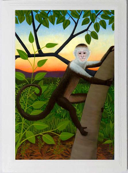 Trozzo-Capuchin Monkey Card