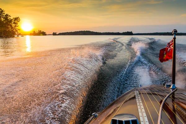 Sunset Cruise Photography Art | Robert Leaper Photography