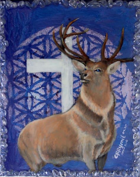 The Stag And Cross Art | errymilbatolart