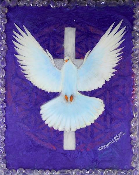 White Dove Of Peace Art | errymilbatolart