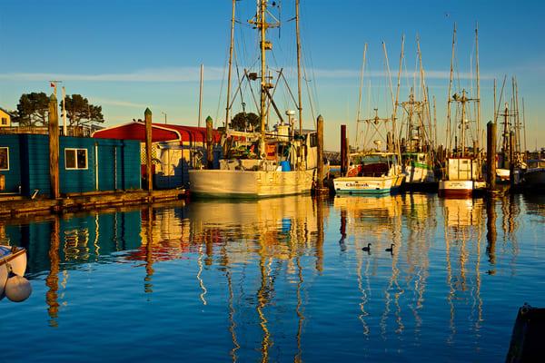 Charleston Fishing Boats, Blue Photography Art | Shaun McGrath Photography