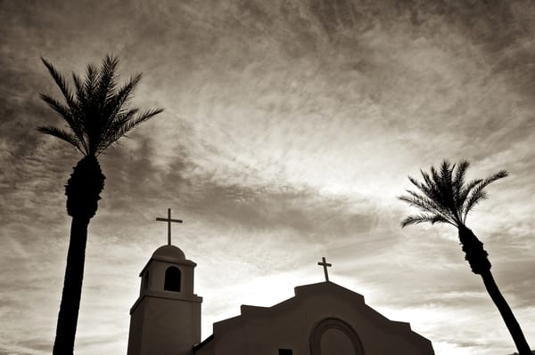 Church In Borrego Springs, Ca Art | Shaun McGrath Photography