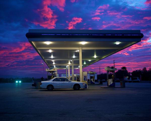Gas Station Sunrise Art | Shaun McGrath Photography