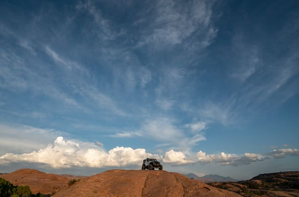 Jeep In Moab Photography Art | Kit Noble Photography