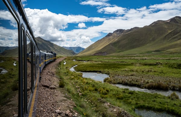Train To Machu Picchu, Peru Photography Art | Kit Noble Photography