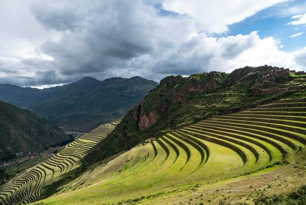 Peru Terraces Photography Art | Kit Noble Photography