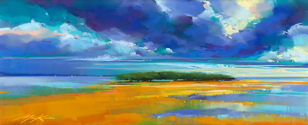 Cerulean To Sea  Art | Michael Mckee Gallery Inc.