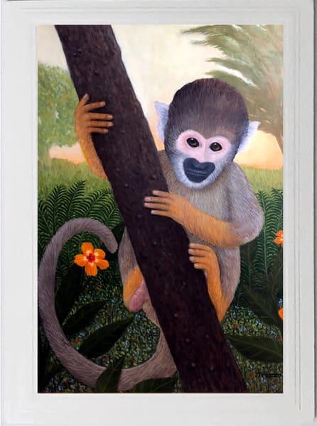 Squirrel Monkey Card