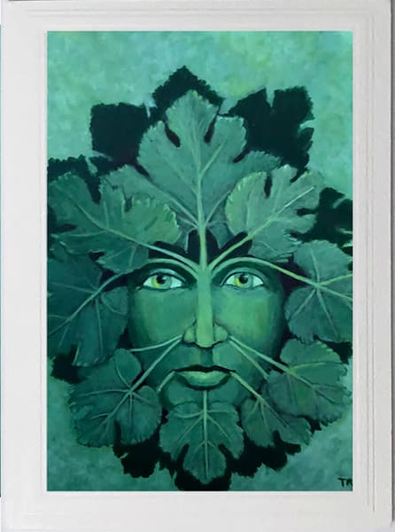 Trozzo-Green Man of the Vines Card