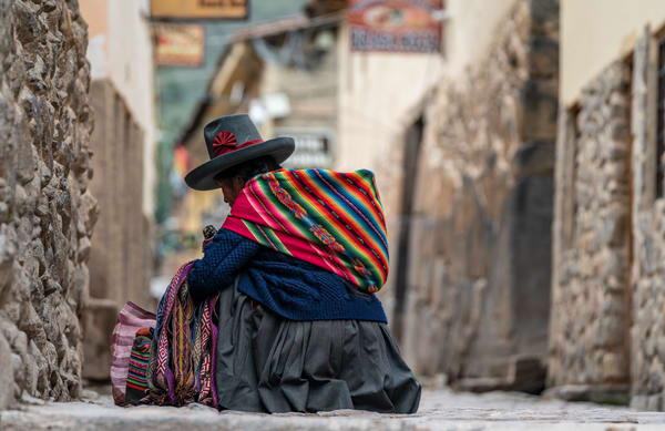 Peruvian Woman Photography Art | Kit Noble Photography