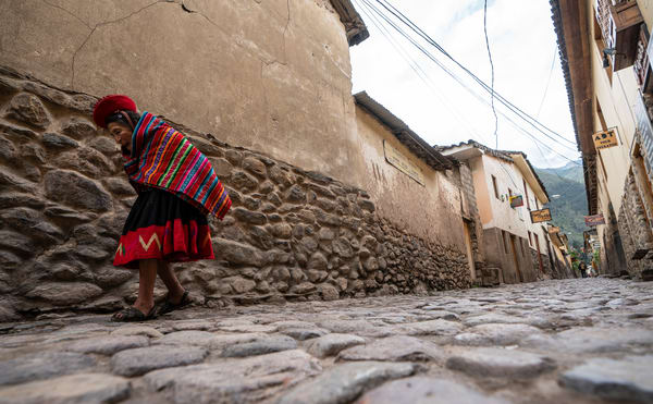 Elderly Peruvian Woman Photography Art | Kit Noble Photography