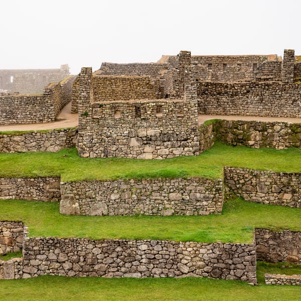 Terraces Machu Picchu (Square) Photography Art | Kit Noble Photography