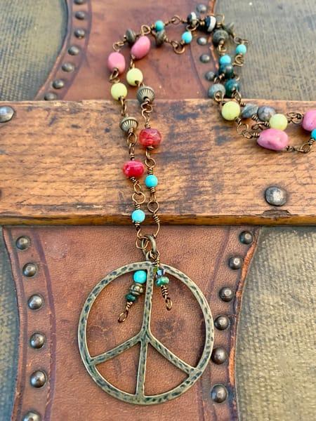Hippie Chick Necklace Art | Mickey La Fave