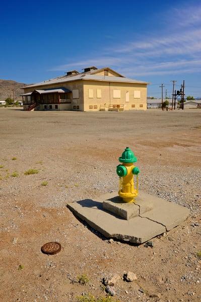 Trona Fire Hydrant