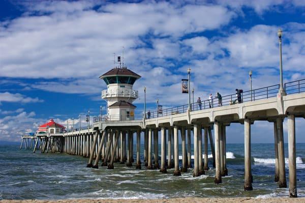 Huntington Beach Pier, 2004.