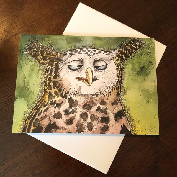 One Kid Too Many Greeting Card | Water+Ink Studios