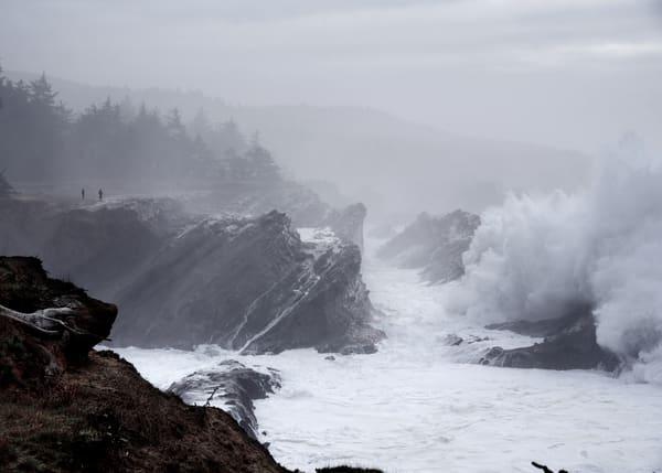 Large Wave At Shore Acres Art   Shaun McGrath Photography