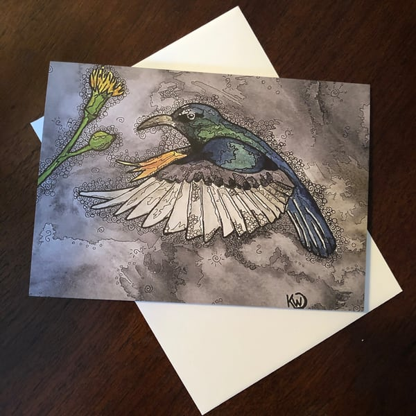 Hummingbird 2 Card | Water+Ink Studios