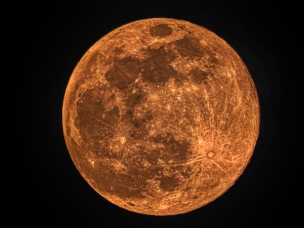 Pink Super Moon 2020 by Keith R Wahl, Made From RI Gallery