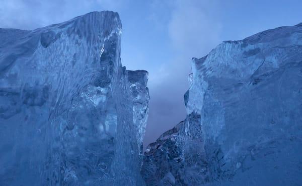 Beach Ice Photography Art | Kit Noble Photography