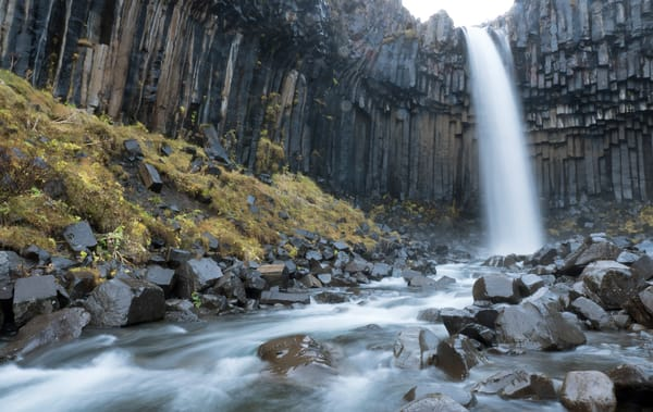 Svartifoss Falls, Iceland Photography Art | Kit Noble Photography