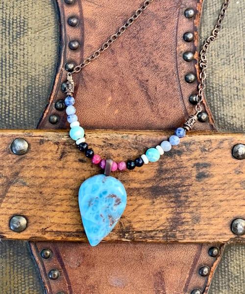 Larimer Point Necklace Art | Mickey La Fave