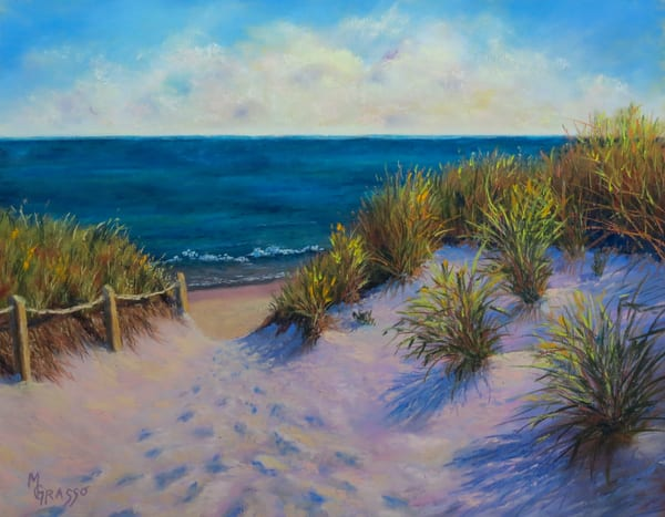 Cape Cod Dunes   Original Art | Mark Grasso Fine Art