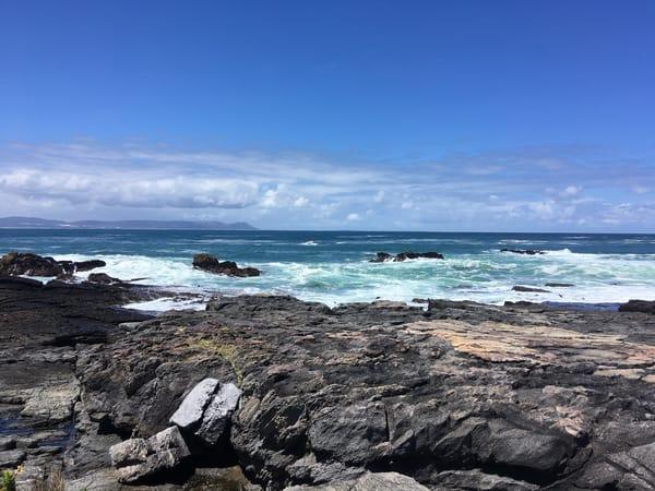 South African Coast Where The Indian Ocean Meets The Atlantic Ocean Art | Roost Studios, Inc.