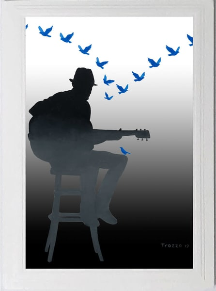 Trozzo-Singing the Blues Away card