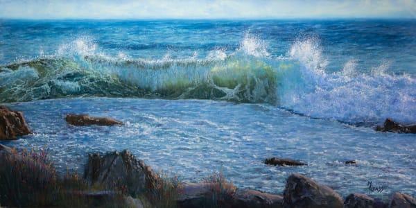 Early Morning Surf   Original Art | Mark Grasso Fine Art