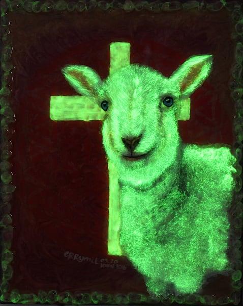 Lamb Of God (Original) Art   errymilart