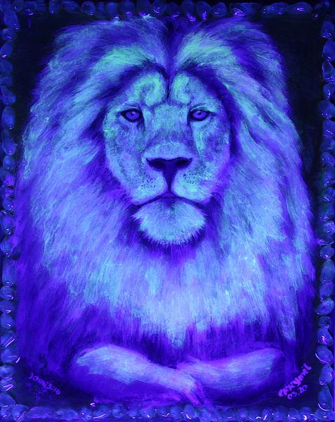 The Mighty Lion Art | errymilart