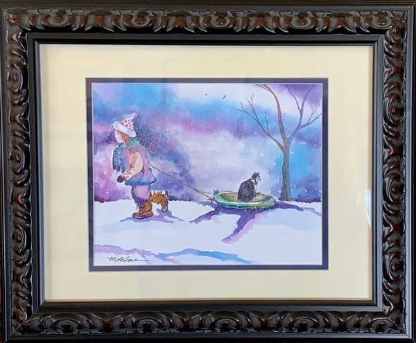 Winter Fun Art | Mickey La Fave