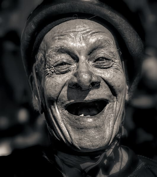 Laughing Man At Ciclavia 2018 Photography Art | Dan Katz, Inc.