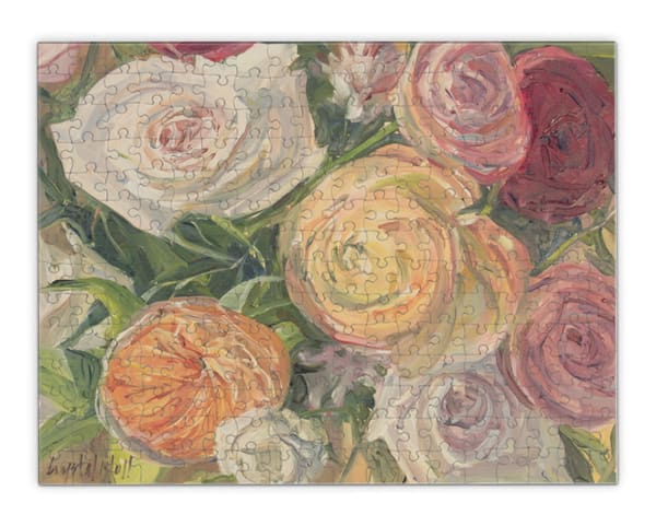 """Birthday Flowers Puzzle 11x14""""   Crystal Moll Gallery"""