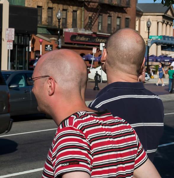 Bald Tourists Boston Photography Art | Dan Katz, Inc.