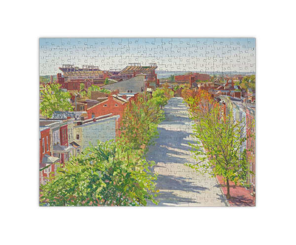 """Federal Hill Spring Puzzle 16x20""""   Crystal Moll Gallery"""