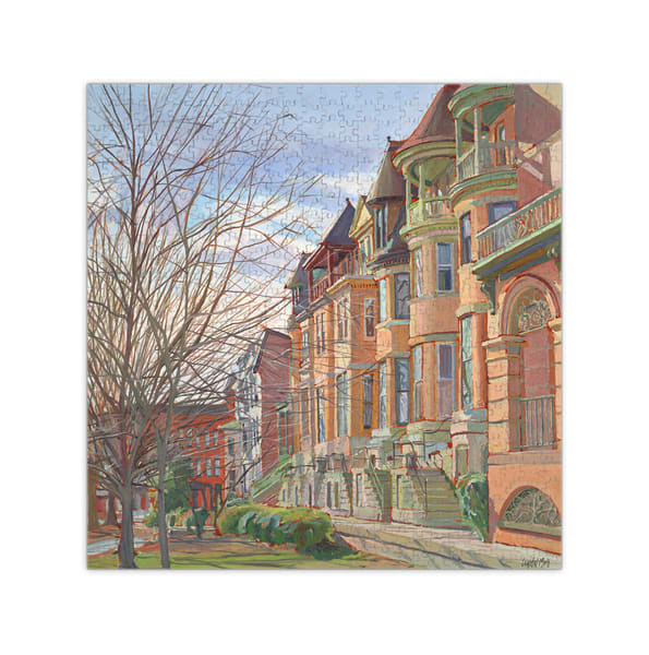 """Reservoir Hill Puzzle 20x20""""   Crystal Moll Gallery"""