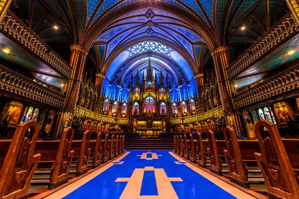 Notre-Dame Basilica of Montreal, Quebec