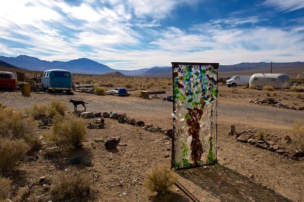 the ecclectic california desert town of darwin