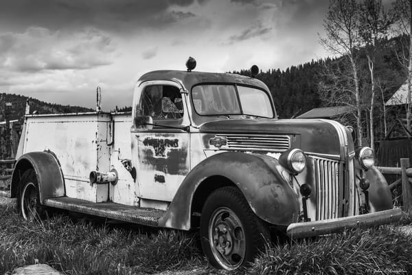 1943 Ford American La France Fire Truck Photography Art | Creighton Images