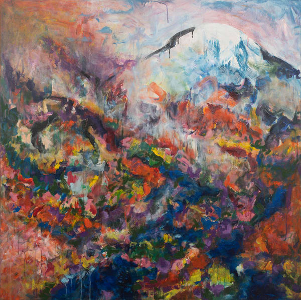 """Mountain Love"" Original Art | Daniel Kanow Fine Art"
