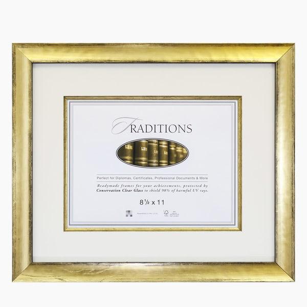 Gold Document Frame
