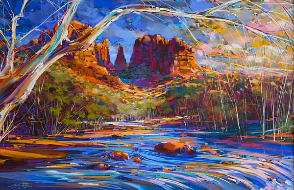 Cathedral Rock Spring Art | Michael Mckee Gallery Inc.