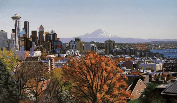 Autumn View, Kerry Park
